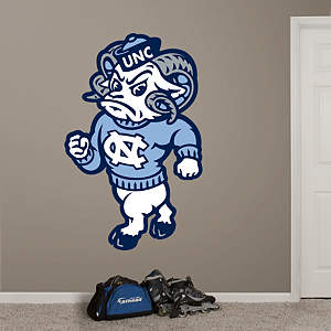 North Carolina Mascot - Rameses Fathead Wall Decal